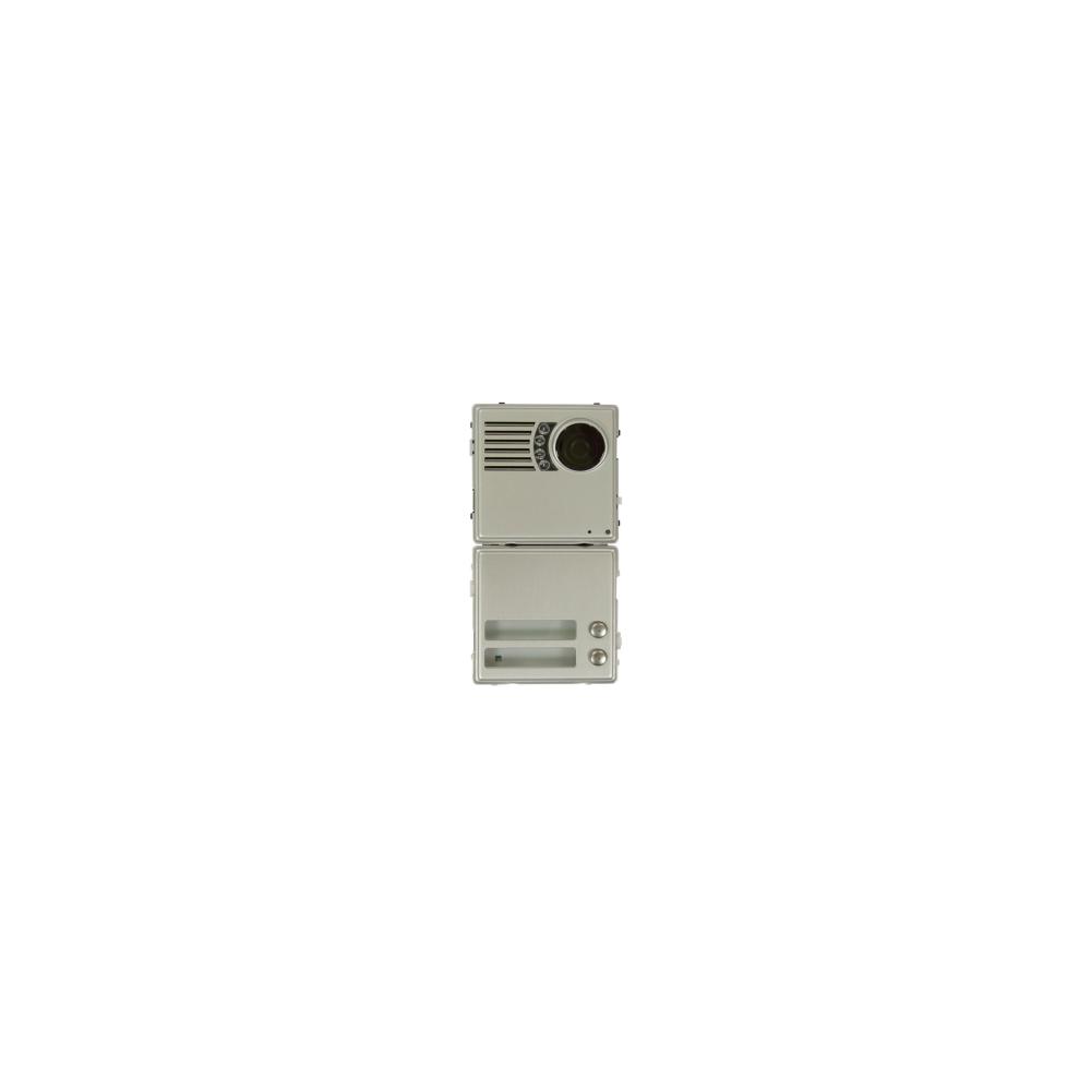 Skrzynka pocztowa Verona - 1 przycisk aluminium kolor szampański