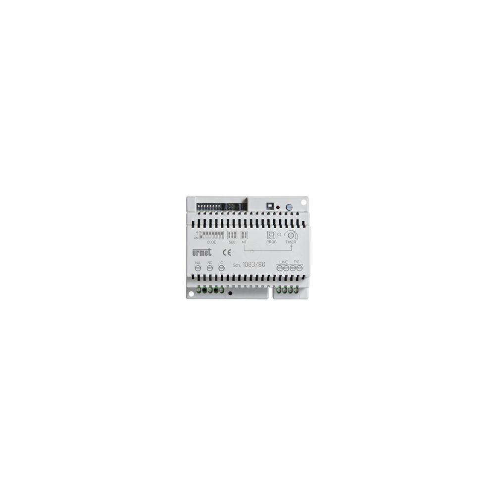 Skrzynka pocztowa Verona - 3 przyciski aluminium srebrna
