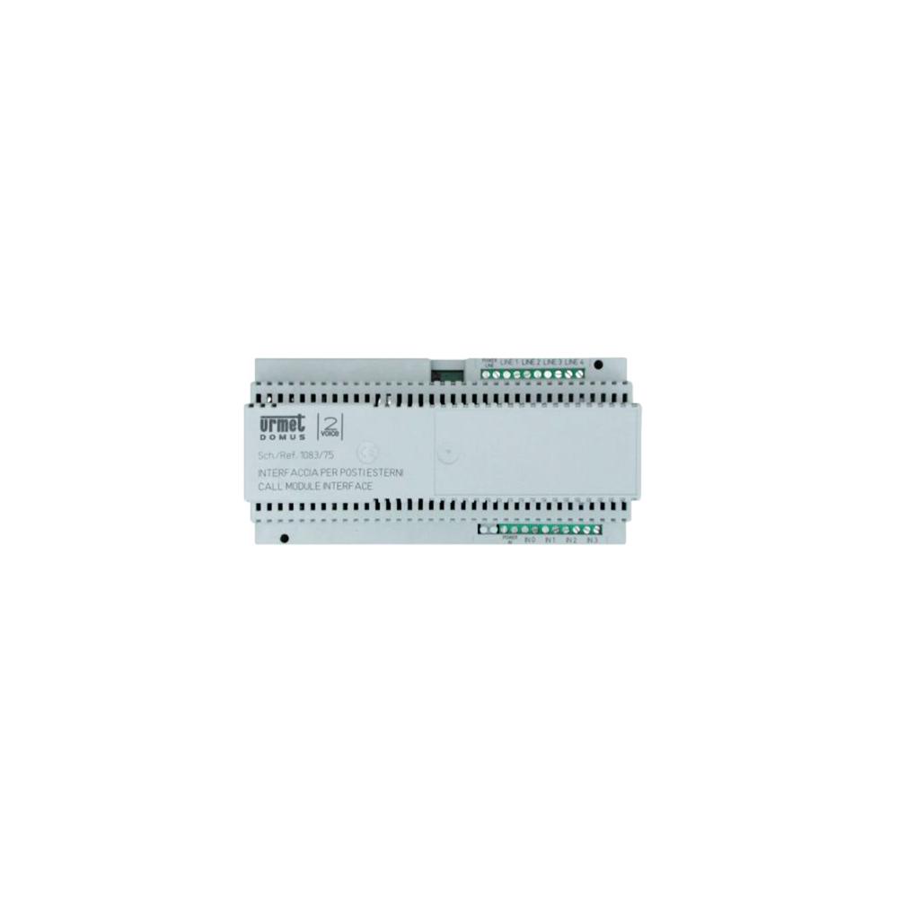Skrzynka pocztowa Verona - 1 przycisk aluminium srebrna