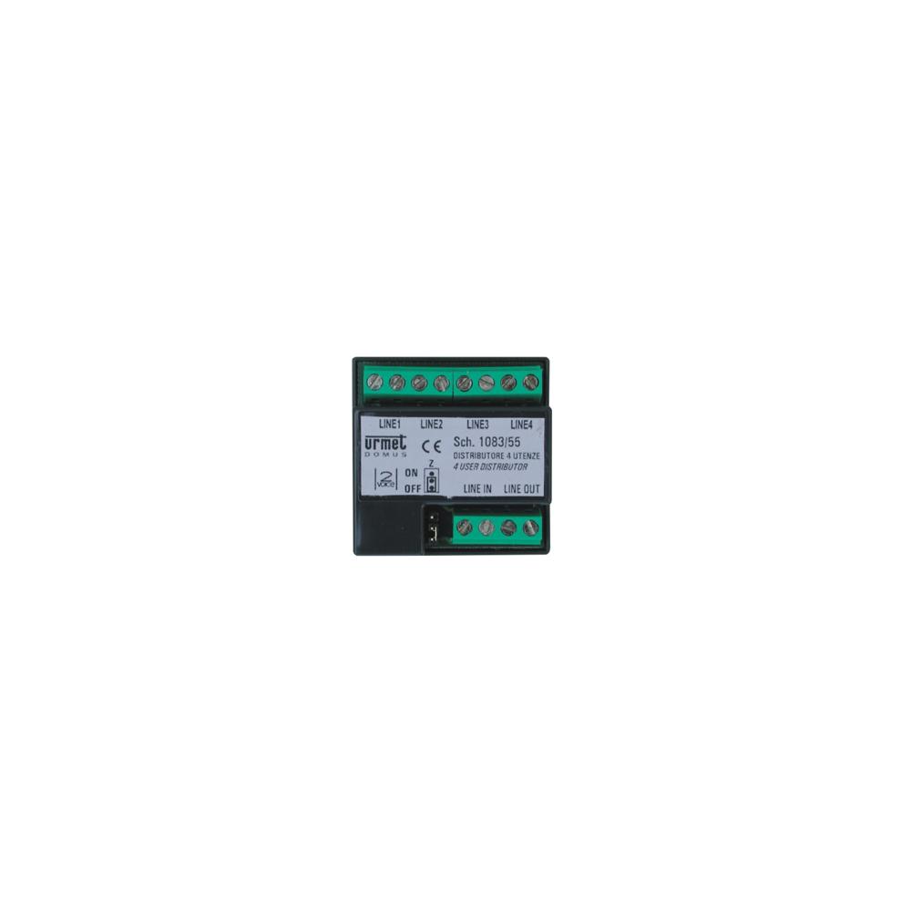 Skrzynka pocztowa Verona - 2 przyciski, szlifowana stal nierdzewna