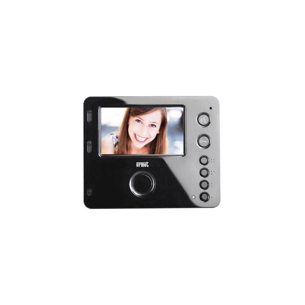 Wideomonitor głośnomówiący KW-S704C-B kolor czarny
