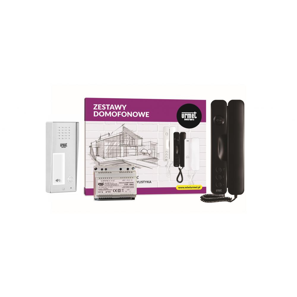 Unifon słuchawkowy VKW-E100F czarny