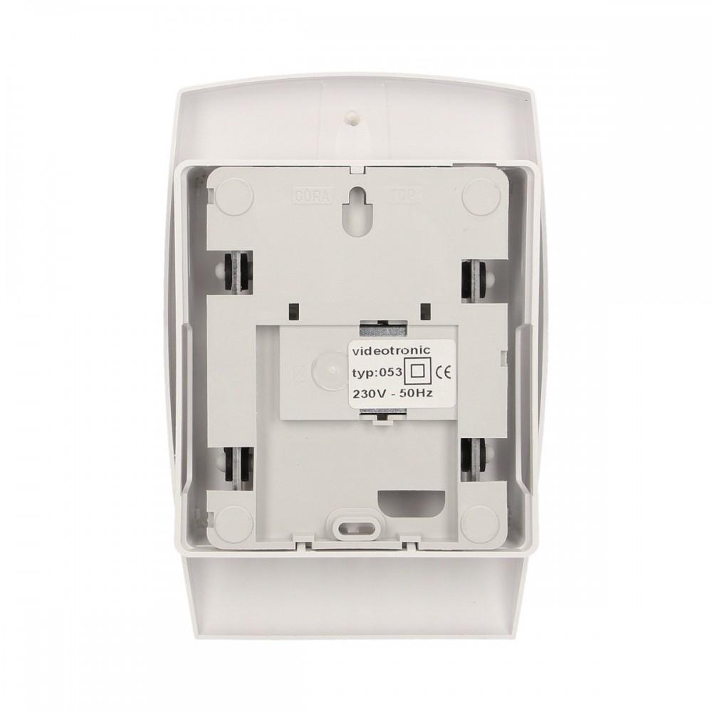 Sygnalizator zewnętrzny akustyczno-optyczny SPL-5020R, opcja zasilania akumulatorowego