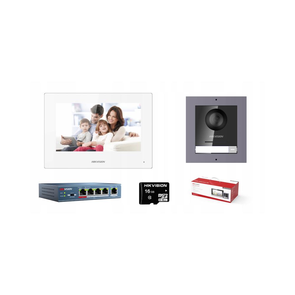 Unifon 1131 do systemu matibus z dodadkowym przyciskiem