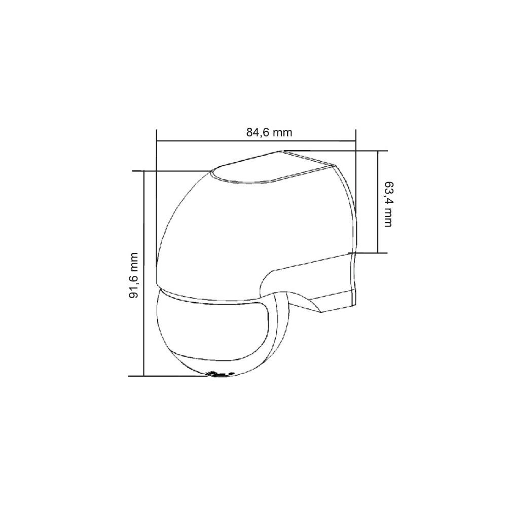 Videomonitor Folio głośnomówiący do systemu 2GO - kolor czarny