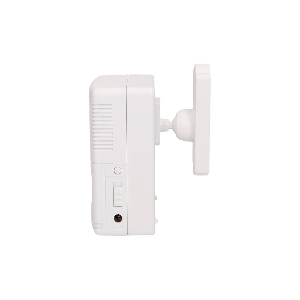 Płyta z kamerą B/W, z modułem rozmównym,1 przyciskiem, system 5-przewodowy - Sinthesi