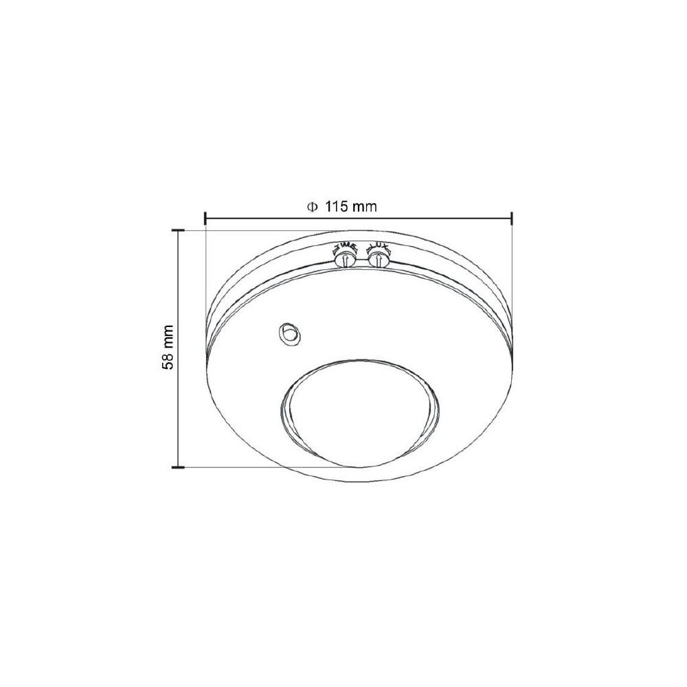 Panel rozmówny MIWUS 16 przyciskowy z daszkiem