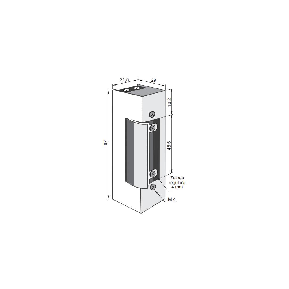 Panel rozmówny MIWUS 6 przyciskowy 2 moduły