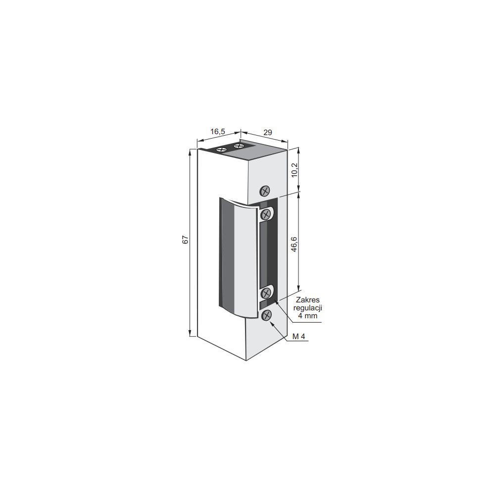 Panel rozmówny MIWUS 8 przyciskowy 2 moduły